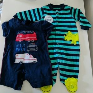 Bundle of Two Newborn Onepieces / Jumpers